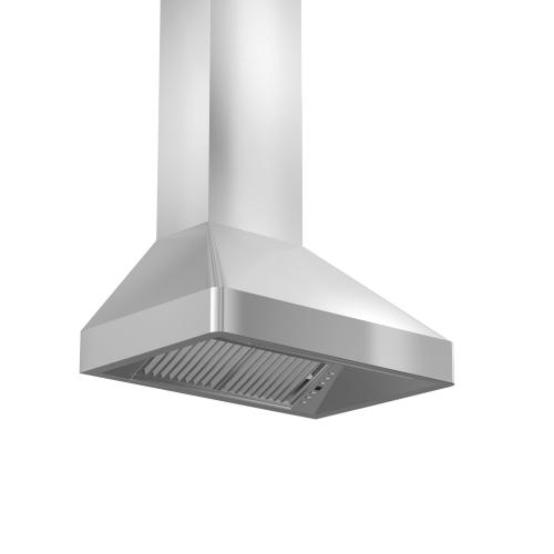 Zline Kitchen and Bath - ZLINE Professional Wall Mount Range Hood In Stainless Steel (9667) [Size: 36 Inch]