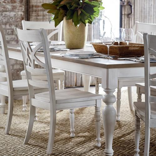 Bassett Furniture - Provisions Farmhouse Leg Dining Table