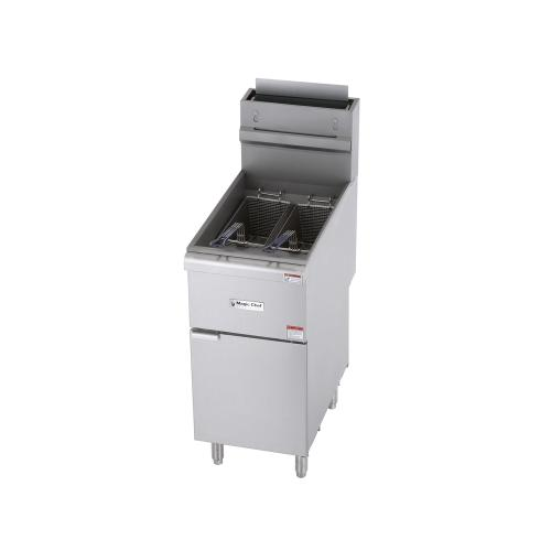 50 Lbs. Commercial Gas Fryer - Propane