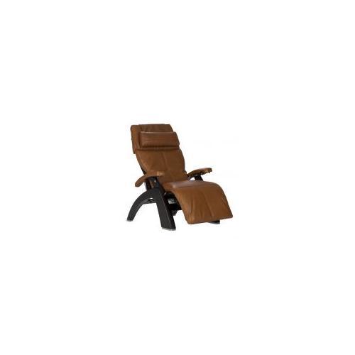 Human Touch - Perfect Chair ® PC-610 Omni-Motion Classic - Matte Black - Cognac Premium Leather