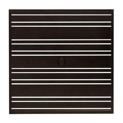 "Woodard Furniture - Tri-Slat 36"" Square Top"