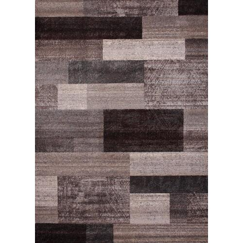 "Power Loomed Hand Carved Geometric Design Tara 303 Area Rug by Rug Factory Plus - 7'6"" x 10'3"""