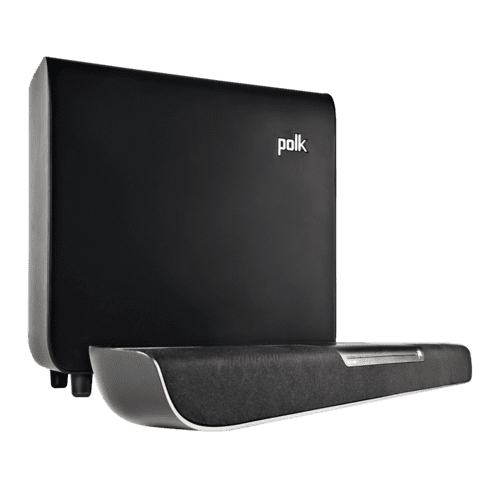 Gallery - Dialogue-Enhancing Sound Bar System in Black