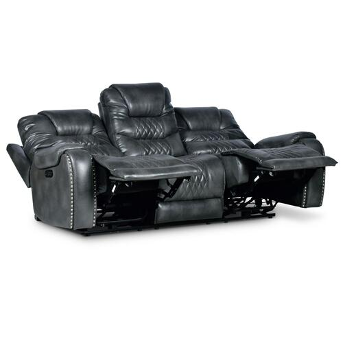 Park Avenue Triple-Power Sofa, Grey