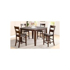 7 PC Pub - Pub Table and Six Pub Chairs