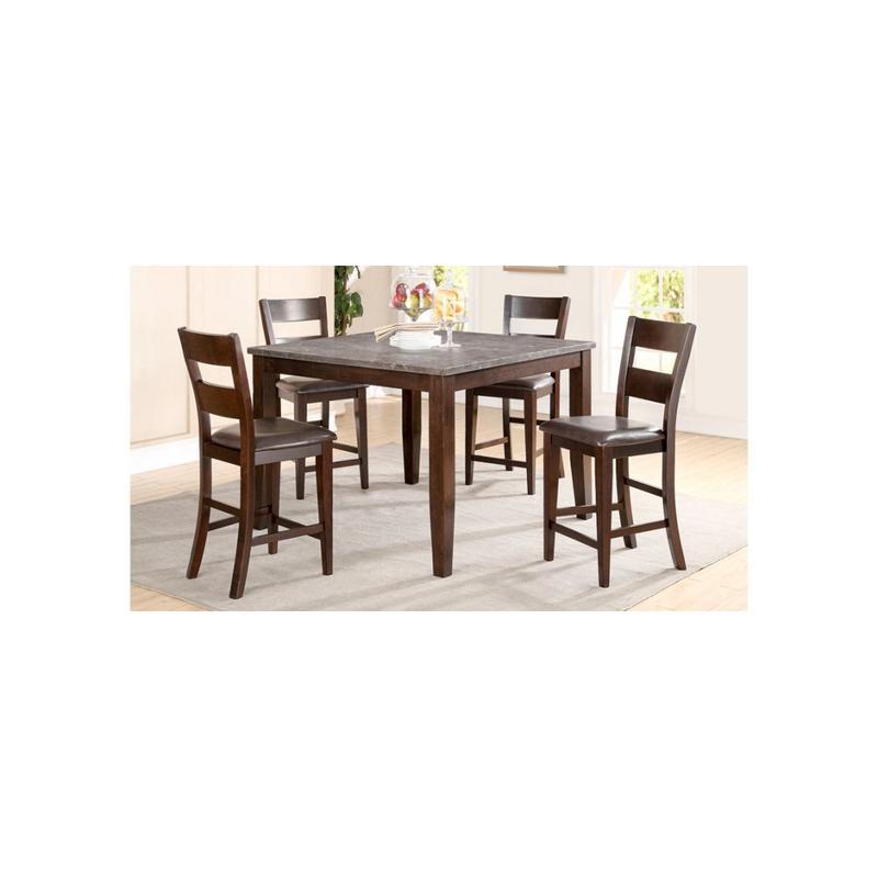 5 PC Pub - Pub Table and Four Pub Chairs