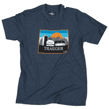 Heritage Barn T-Shirt (Blue) - 2XL