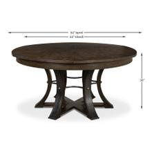 See Details - Tower Jupe Dining Table, Lg,Artisan Grey