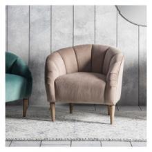 GA Tulip Chair Wheat Velvet