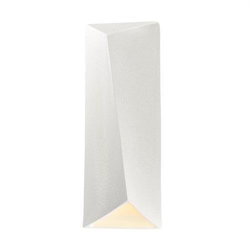 ADA Diagonal Rectangle LED Wall Sconce (Closed Top)