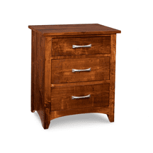 Glengarry 3 Drawer Night Stand