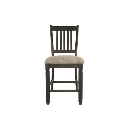 Tyler Creek Upholstered Barstool Black/Gray