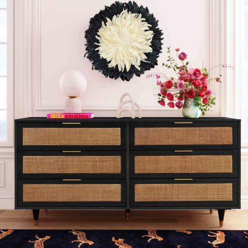 Product Image - Sierra Noir 6 Drawer Dresser