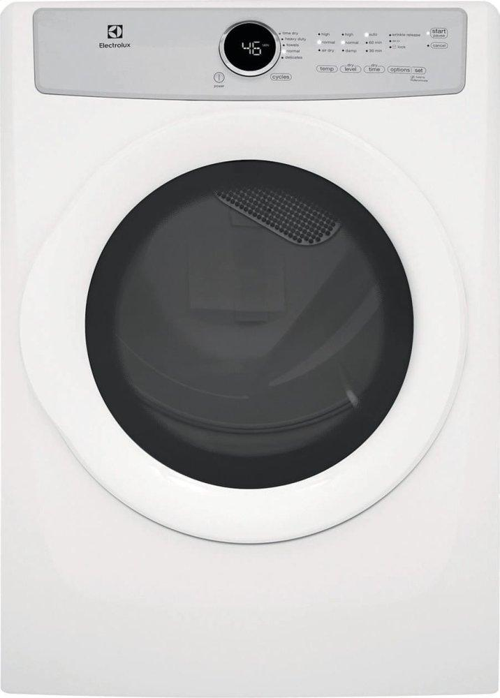 Front Load Electric Dryer with 5 cycles - 8.0 Cu. Ft. Photo #2
