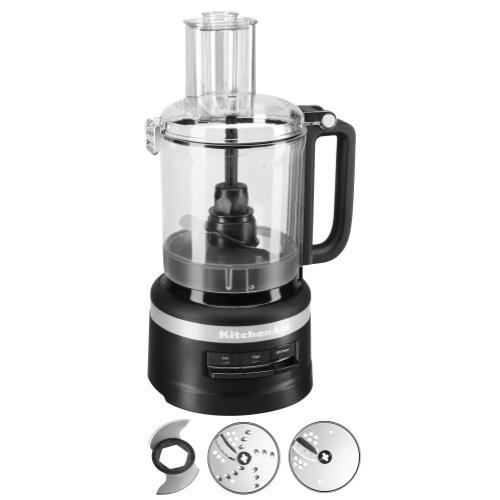 KitchenAid - 9 Cup Food Processor - Black Matte