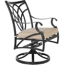 See Details - Swivel Rocker Dining Arm Chair