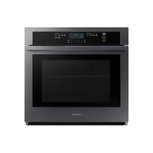 """SAMSUNG30"""" Single Wall Oven in Black Stainless Steel"""
