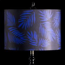 BLUE PALM MIXOLOGY SHADE  MEDIUM  11in X 16in  Available in three sizes this lighting collection