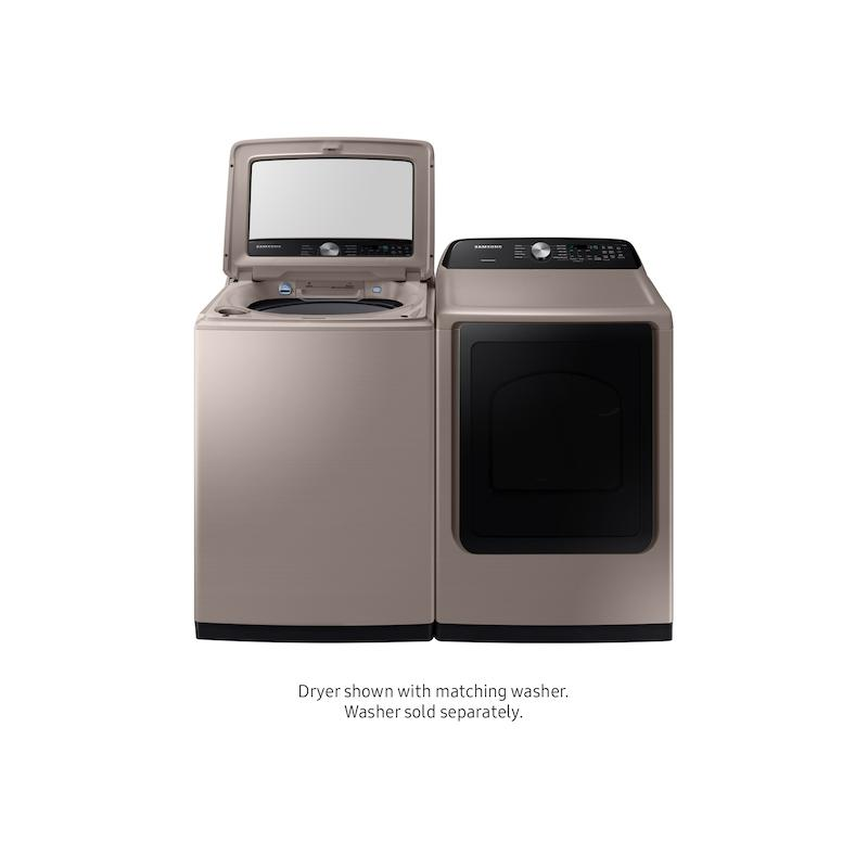 7.4 cu. ft. Gas Dryer with Sensor Dry in Champagne