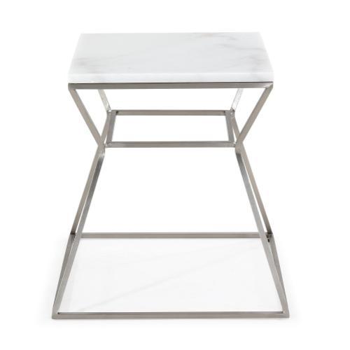 Tov Furniture - Zamora Marble Side Table
