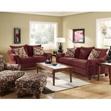 Cebu-red Loveseat 2832
