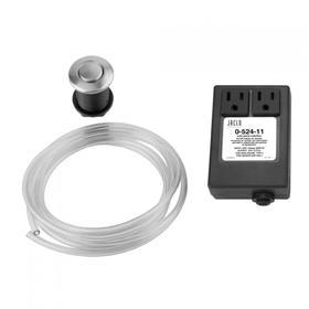 Satin Nickel - Waste Disposal Round Air Switch
