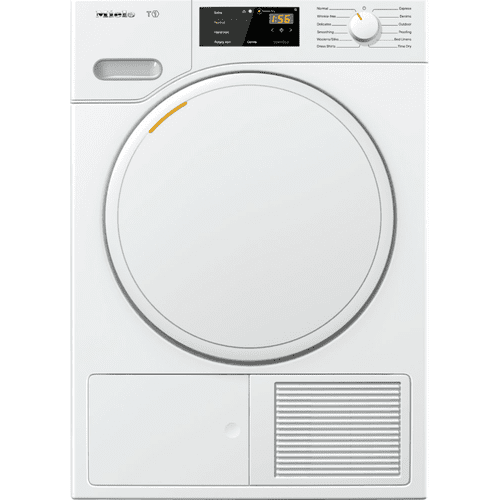 T1 Classic heat-pump tumble dryer With FragranceDos for laundry that smells great.