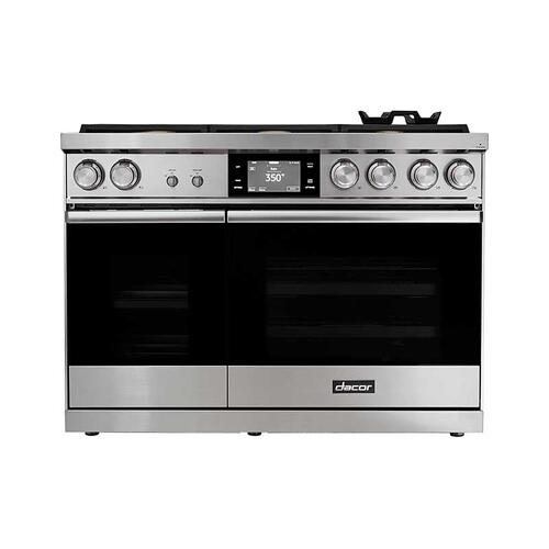"48"" Range, Stainless Steel, Liquid Propane"