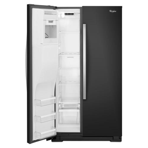 Whirlpool - 36-inch Wide Side-by-Side Refrigerator with Temperature Control - 26 cu. ft.