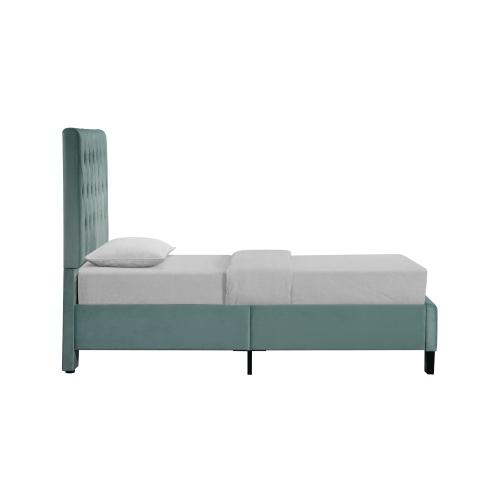 Emerald Home Amelia Upholstered Bed Kit Twin Light Blue B128-08hbfbr-24