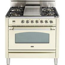 36 Inch Antique White Natural Gas Freestanding Range