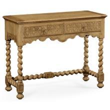Natural oak console (Small)