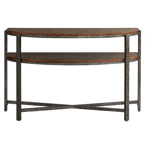 Gallery - Demilune Sofa Table