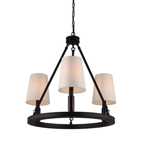 Lismore Small Chandelier Oil Rubbed Bronze