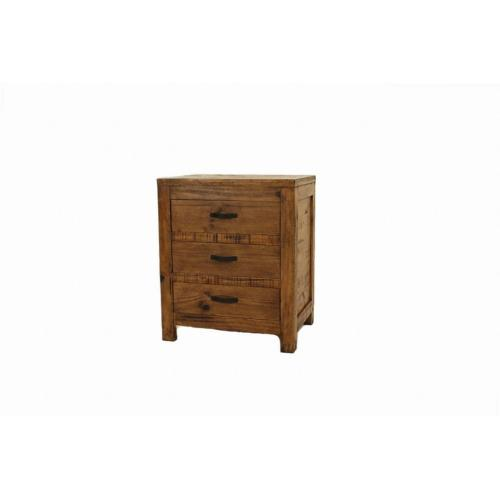 L.M.T. Rustic and Western Imports - Ashton 3 Drawer Nightstand