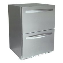 Rcs 2-drawer Fridge W/lock