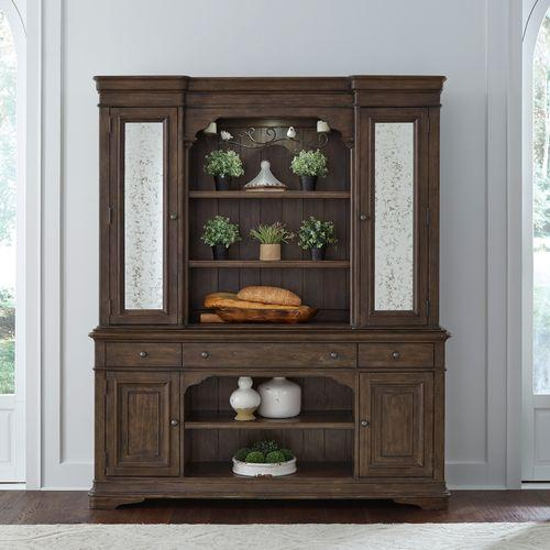 Liberty Furniture Industries - Hutch & Buffet