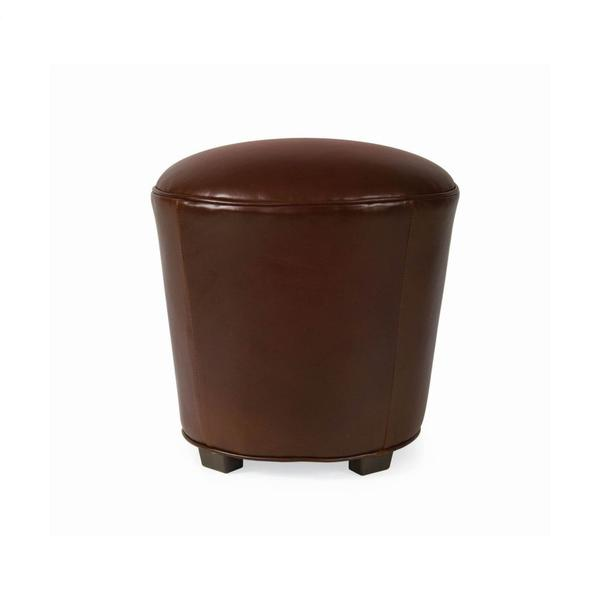 See Details - Leather Stool