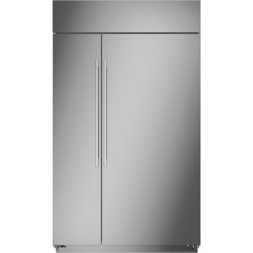 "Monogram 48"" Smart Built-In Side-by-Side Refrigerator"