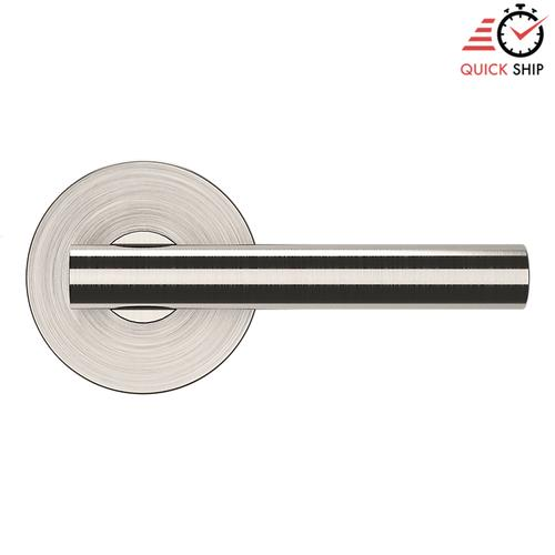 Baldwin - Satin Nickel with Lifetime Finish 5137 Estate Lever with 5046 Rose