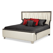 East King Upholstered Bed