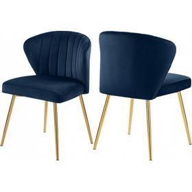 "Finley Velvet Chair - 20.5"" W x 20"" D x 31.5"" H"