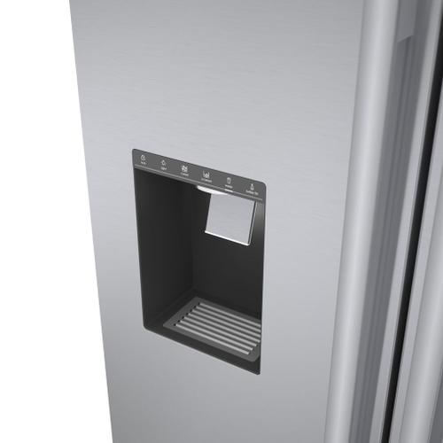 500 Series French Door Bottom Mount 36'' Easy Clean Stainless Steel B36CD50SNS