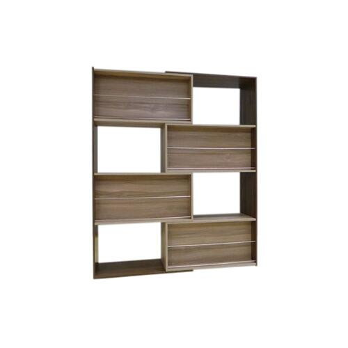 Slide Logic Cocoa Sliding Bookcase, 6420AB