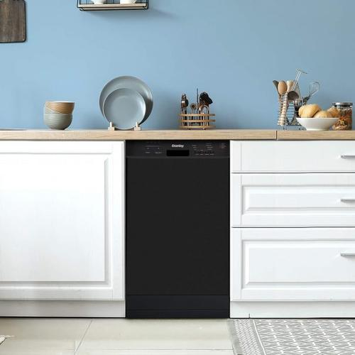 Danby Canada - Danby 18 Built-in Dishwasher with Front Controls (White)