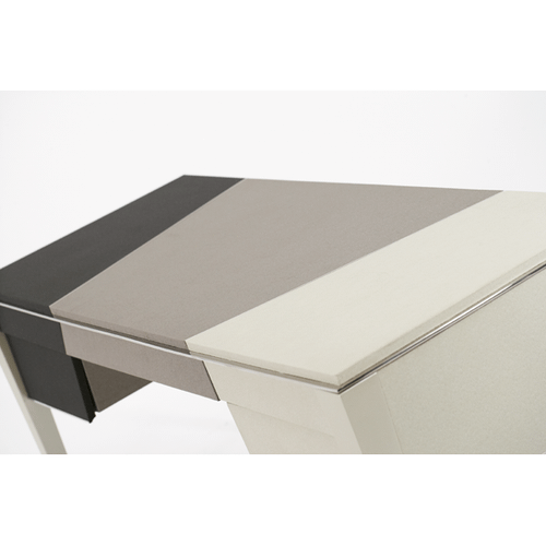Pearl Caviar w/Black and Gray Desk
