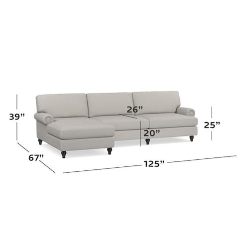 Gallery - Hunter 2 Piece Left Chaise Sectional