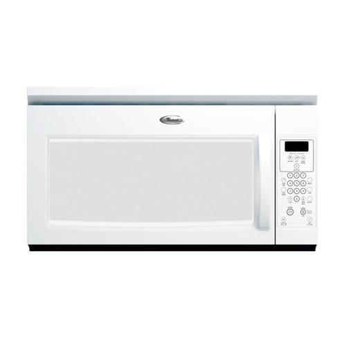 White 1.6 Cu. Ft. Microwave Hood Combination