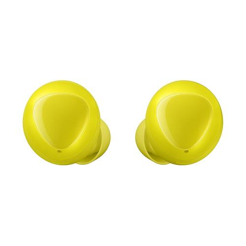 Galaxy Buds, Yellow (Wireless Charging Case Included)