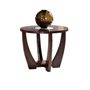 Steve Silver Co.Rafael End Table w/Cracked Glass Insert (15mm)